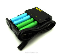 Nitecore I2 I4 chager intellicharge i4 battery charger for Ni-MH / Ni-Cd battery usb car charger