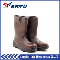 Good Price and Good Quality of Leather safety boots SF1308