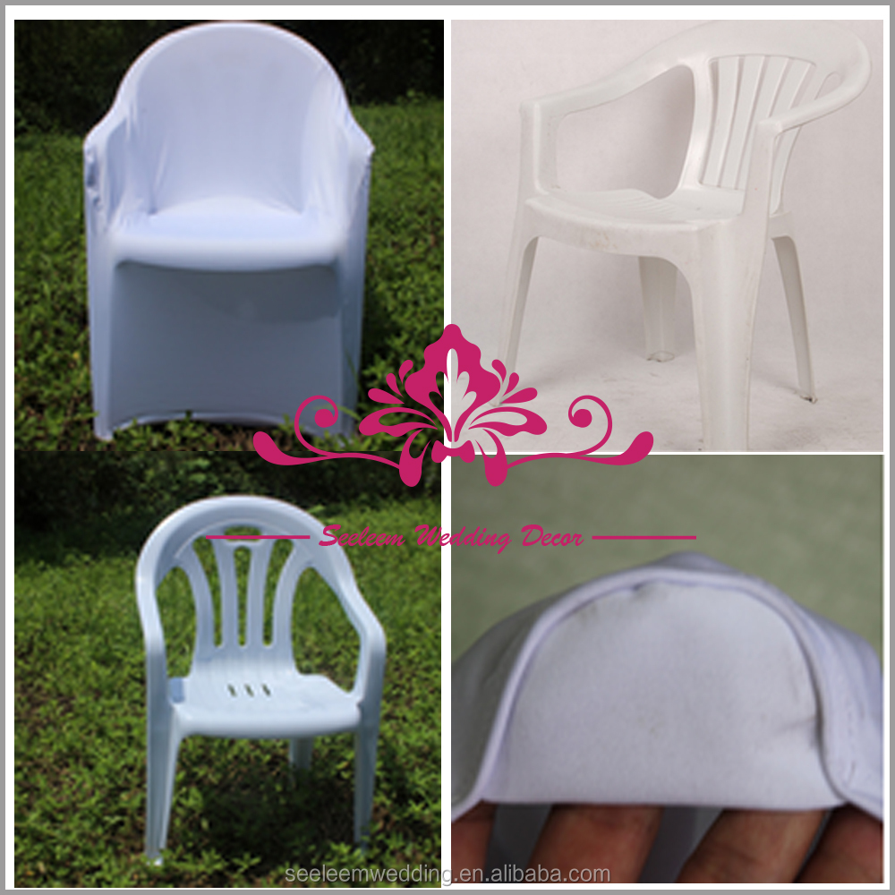 SC074 Wholesale Spandex Chair Covers For Plastic Chairs