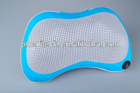 Electric neck and back massage pillow for car and home use