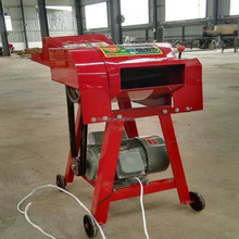 Cattle feed hay chopping machine
