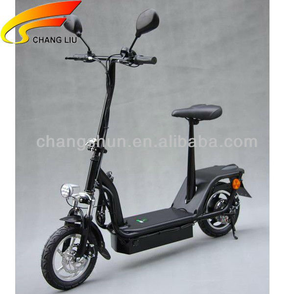 Foldable Brushless motor Electric scooter with EEC