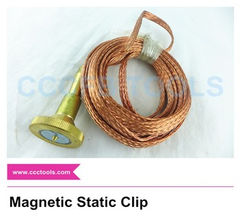 Non-spark Magnetic Static Clip(made of copper,Direct suck),Nonsparking tools,hand tools