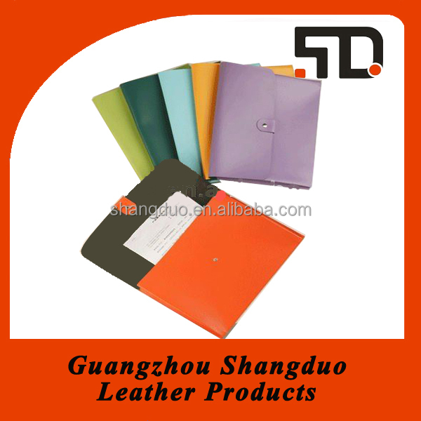 Manufacture Good Handmade Leather Multi-colour Briefcase