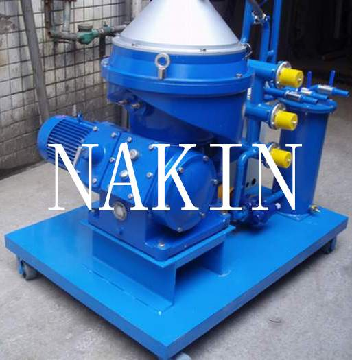 Disc-Type Centrifugal Marine Oil Separator With Water And Particles Removing/Oil Cleaning Machine