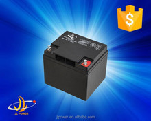 12v series deep cycle battery 12v38ah long life lead acid /gel battery solar battery