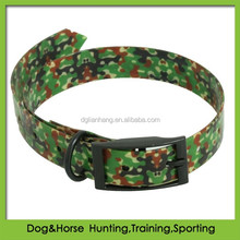 hot selling retractable remote camouflage dog collars for hunting wholesale