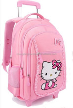Online india hello kitty 4 wheel school trolley bag for kids