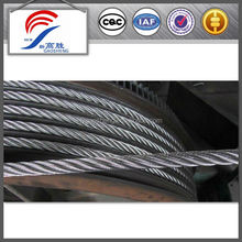 7x19 galvanized steel wire rope for elevator