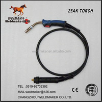 MIG/MAG/CO2 Welding Torch/Gun MB 25AK