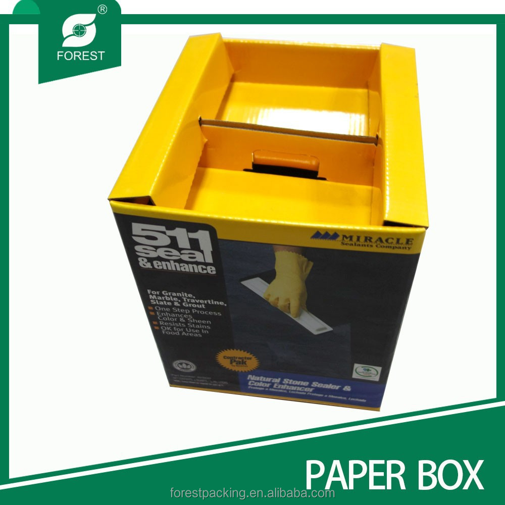NATURAL STONE SEALER AND COLOR ENHANCER PAPER PACKAGING BOX