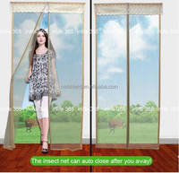 wholesale China market Magnetic Mosquito Net Decorative mesh Door Screen Curtain