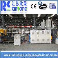 China supplier hdpe double wall corrugated pipe making machine price