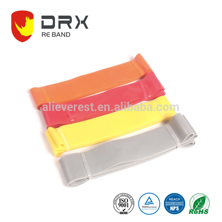 custom logo printing resistance sporting bands made in china