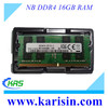 High quality notebook computer ddr4 2133 2400 mhz memory ram 16 gb with retail package