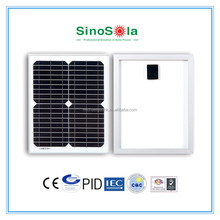TUV/PID/IEC/CEC/CE/ISO/25years warranty 6v 5w solar panel
