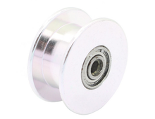 20 teeth pulley wheel driven wheel Perlin 20 2GT without teeth toothed gear bore 3mm High quality for 3D printer