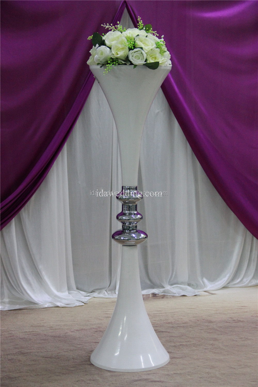 Reversible trumpet vase choice image vases design picture list manufacturers of flower vase stand buy flower vase stand floor standing white wedding pillar vase reviewsmspy