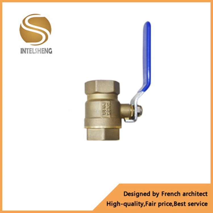 "Hot Selling Copper Fittings Ball Valve China1"" Brass Ball Valve Price"