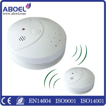 wireless interconnected smoke alarm detector en14604 buy wireless smoke alarm wireless smoke. Black Bedroom Furniture Sets. Home Design Ideas