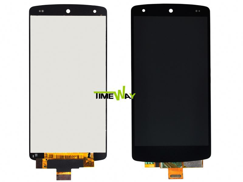 100% original LCD + Touch Screen Digitizer Glass Assembly for LG Google Nexus 5 D820 D821 with Frame
