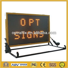 LED Vehicle Mounted Variable Message Sign A Size With Display Size 1560*990mm
