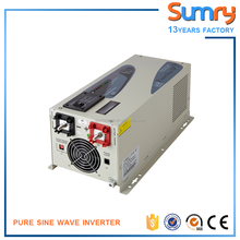 12v 24v 48v to 220v 230v 50hz /60hz 1000w 2000w 3000w LCD display pure sine wave power inverter with charger