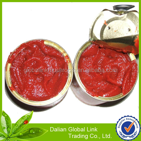 China factory canned tomato sauce paste