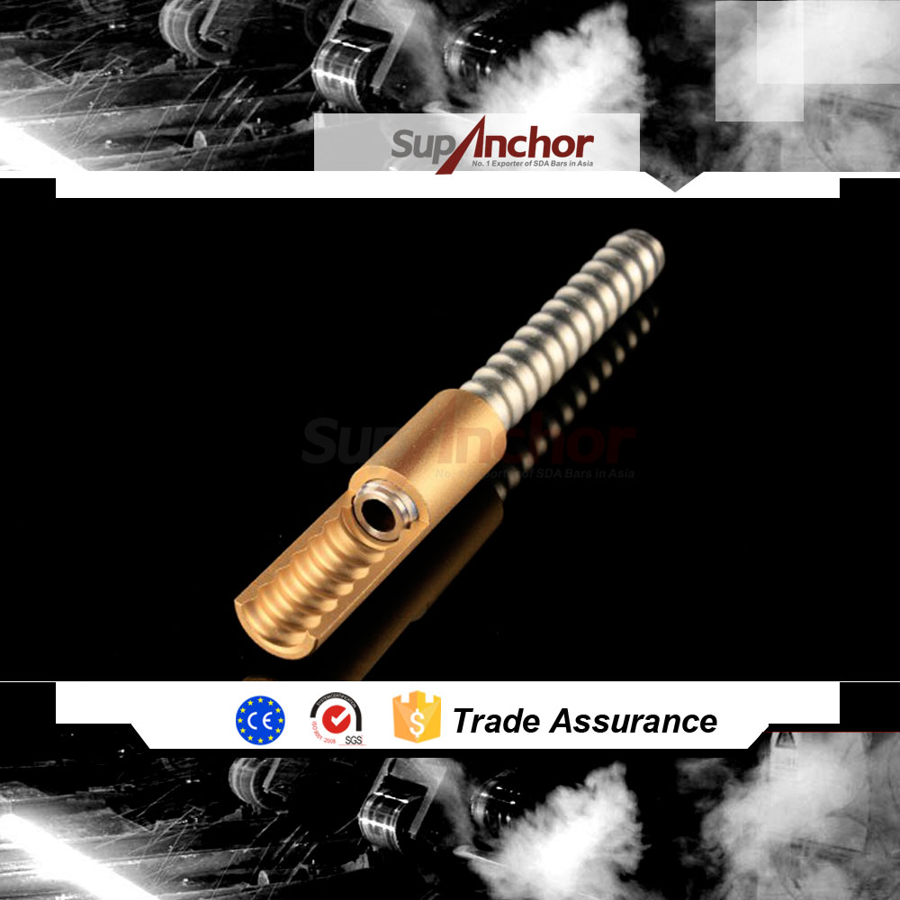 SupAnchor Top Quality Micropiling Self Drilling Hollow Anchor Bolt
