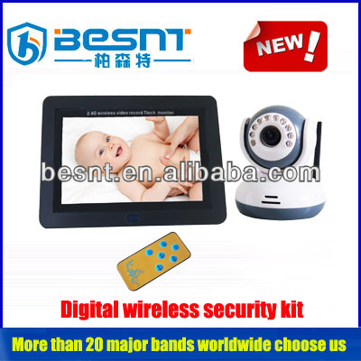 Besnt 2.4ghz wireless dvr kit Support standard NTSC/PAL format video output baby monitor. BS-W262