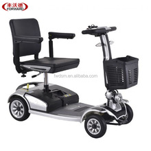 Folding 4 wheel 1 seat electric handicapped mobility scooter