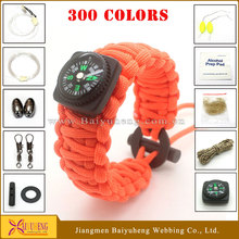 custom paracord survival bracelet materials supplies