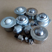 Small ball joint caster,roller skate wheel BTU transfer bearing,stainless steel 440 304 316 ball transfer unit