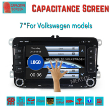 HOT SALE Volkswagen golf 5 car dvd player gps with 7'' Wince 6.0 MTK MT3360 Built-in CANBUS Special design with FREE MAP