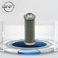 Lube oil filter from SINFT, Customized hydraulic oil filter, High Filtration Efficiency Customized Hydraulic Oil Filter