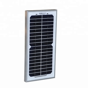 5w 18v mono poly solar panel manufactured in China for DC product
