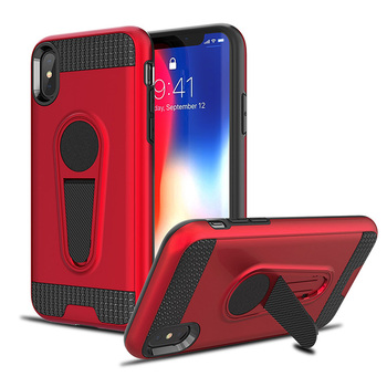 TPU PC Phone Case Kickstand Mobile Phone Cover For iPhone XS/XR/XS Max