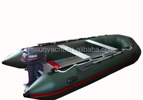 Inflatable racing boat rowing boat