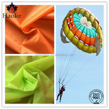 high quality 100% nylon waterproof parachute silk fabric