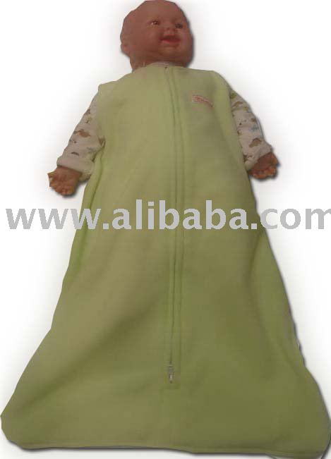 2-in-1 Micro-Fleece Sleep bag/Swaddle