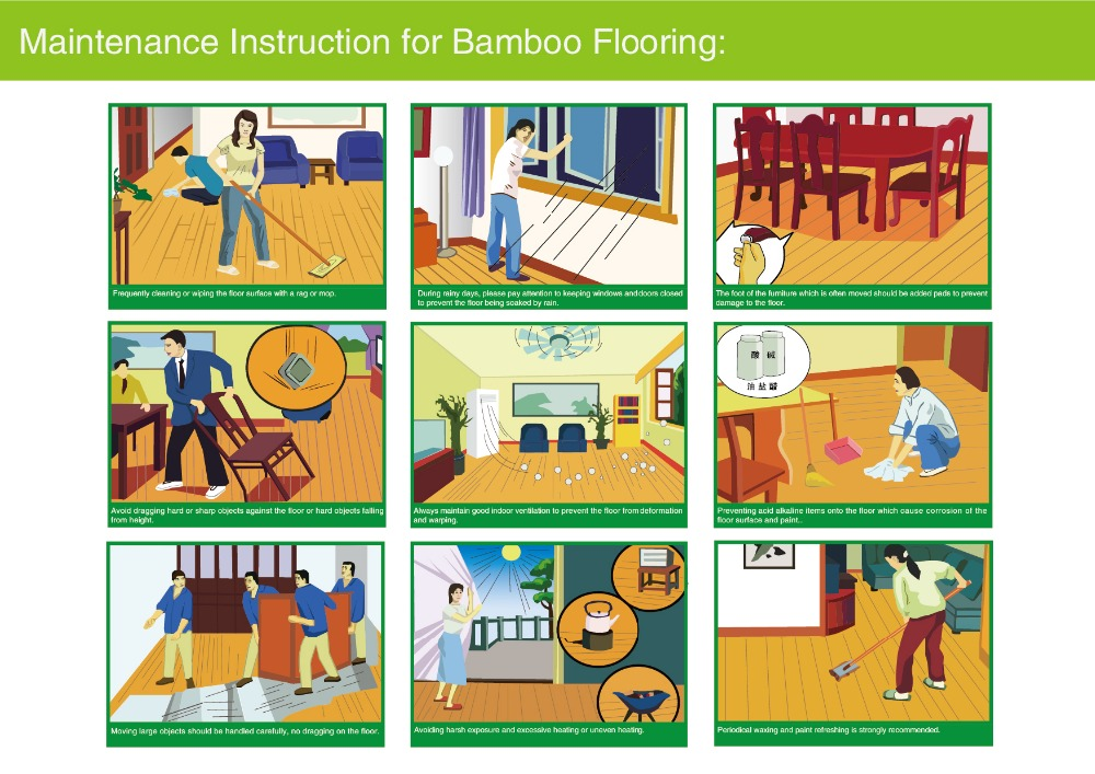 cheap waterproof solid bamboo flooring hot sale products in 2016