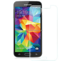 Clear tempered glass screen protector for Samsung S5 I9600