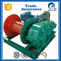 Electric wire rope hoist winch
