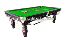Newest English Style Snooker Table for bending tape