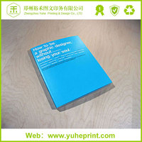 2015 CMYK 500g free size art coated paper printing telephone coloring book binding paper