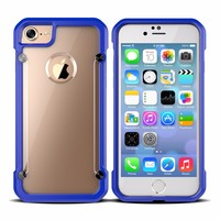 Hot New Products Clean PC Back Soft TPU bumper case For iPhone 7 case