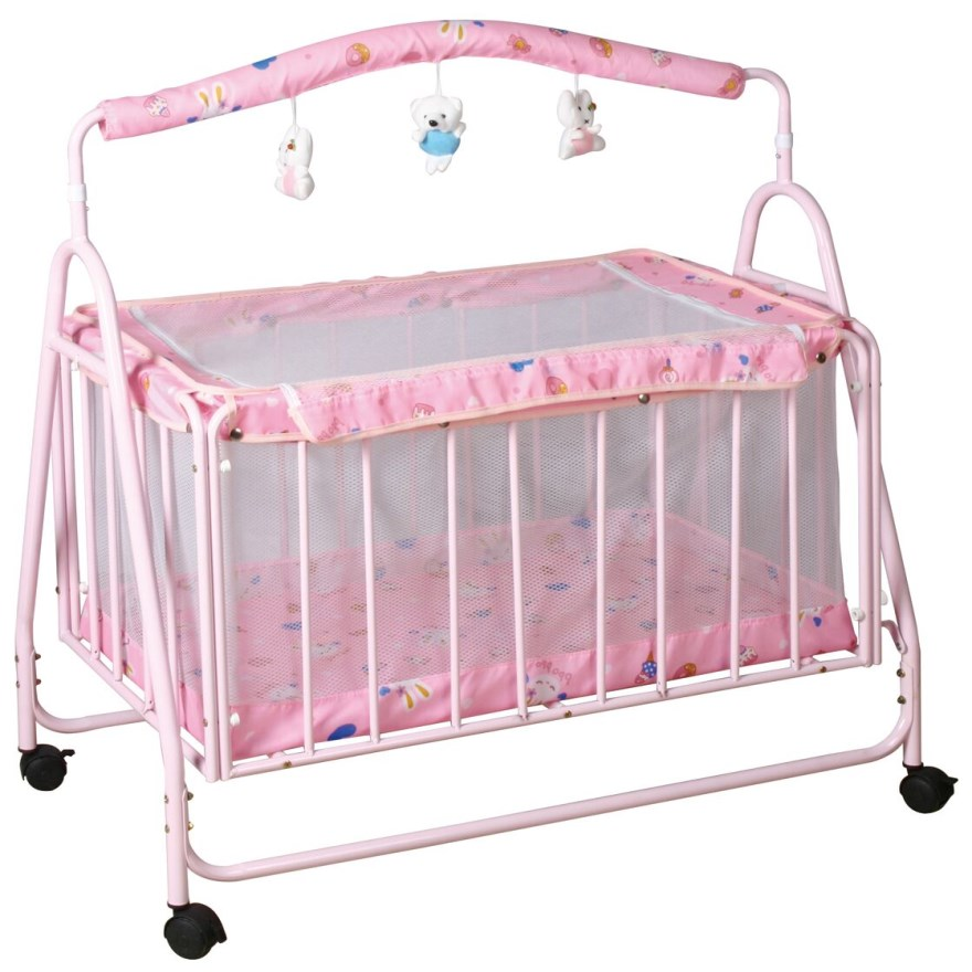 hot sale cradle baby cot bed,new cheap metal hanging baby crib,modern swing baby beds