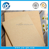 hot sale kraft paper notebook recycled notebook school