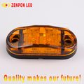 "2.5"" Oval lamp side marker lamp led trailer lamp"