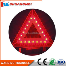 Factory Supply car and truck accident Orange traffic safety warning triangle